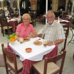 Mittagsrast in Mochlos